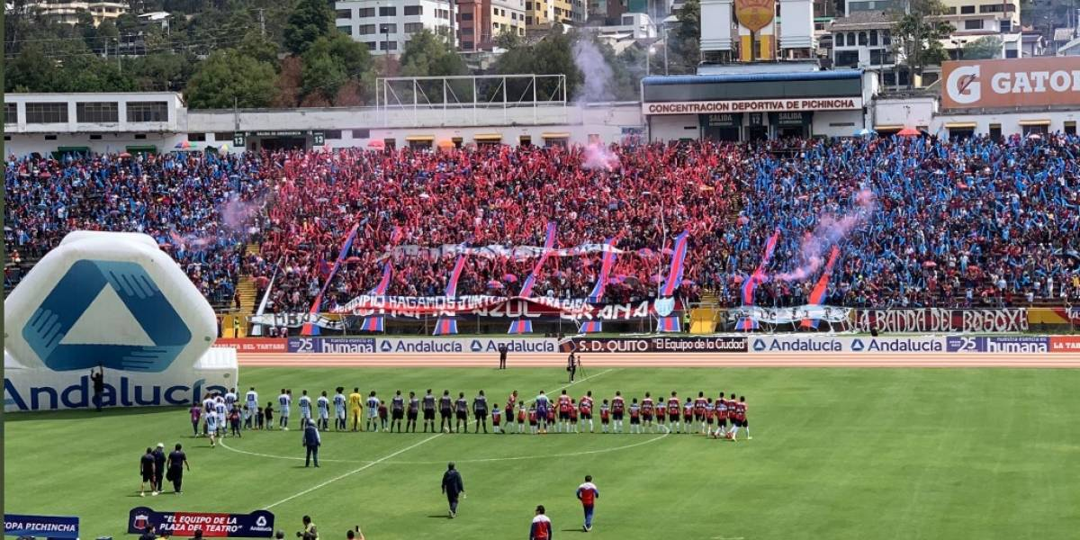 Liga de Quito rechaza actos de violencia a hinchas de Deportivo Quito