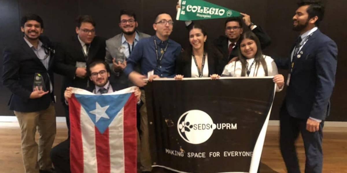 Estudiantes del RUM arrasan en conferencia anual de SEDS