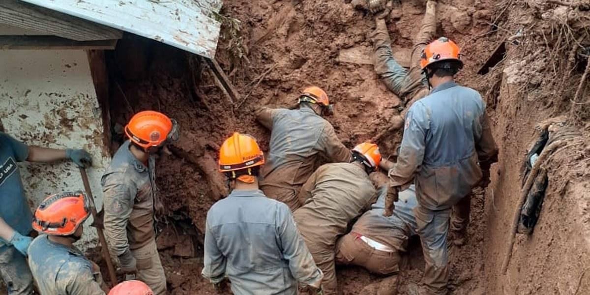 Chuvas: Deslizamento de terra em Campos do Jordão deixa 4 mortos