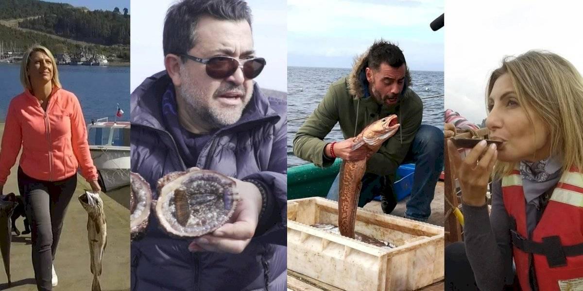 """Famosos se convertirán en pescadores en la nueva temporada de """"Reyes del Mar"""" de TVN"""