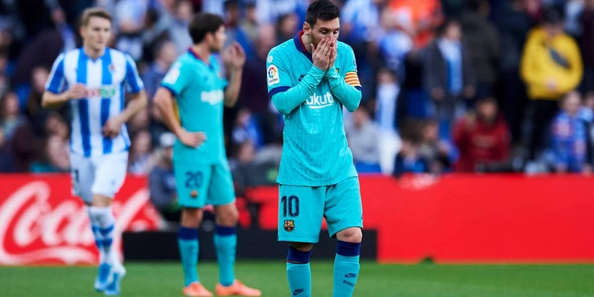 El Barça se queja por el mal uso del VAR