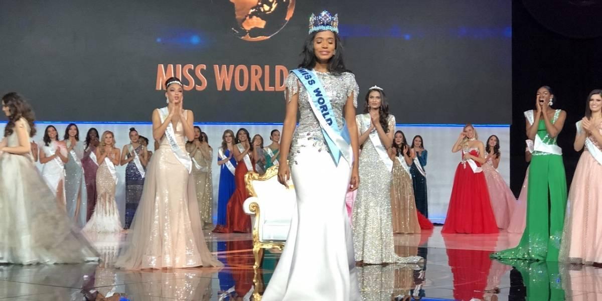 Miss Jamaica se alza como la nueva Miss Mundo 2019