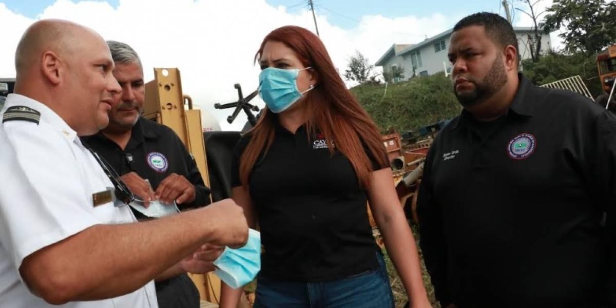 Gobernadora activa Guardia Nacional para caso de fuego en Cayey
