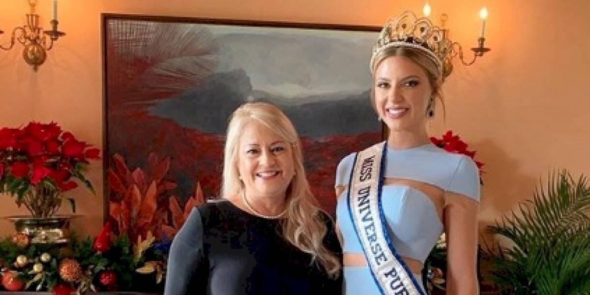 Madison Anderson Berríos se reúne con la gobernadora