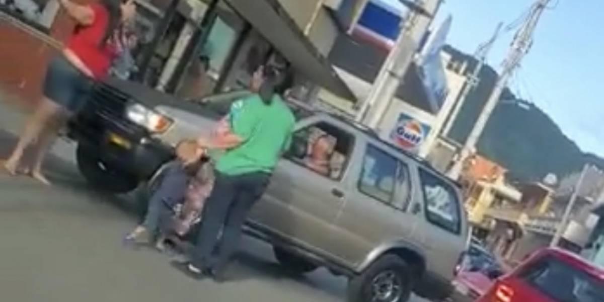Mujeres protagonizan pelea en casco urbano de Jayuya
