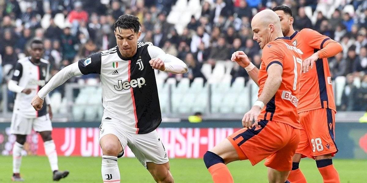 Cristiano aporta doblete en triunfo de la Juventus ante Udinese
