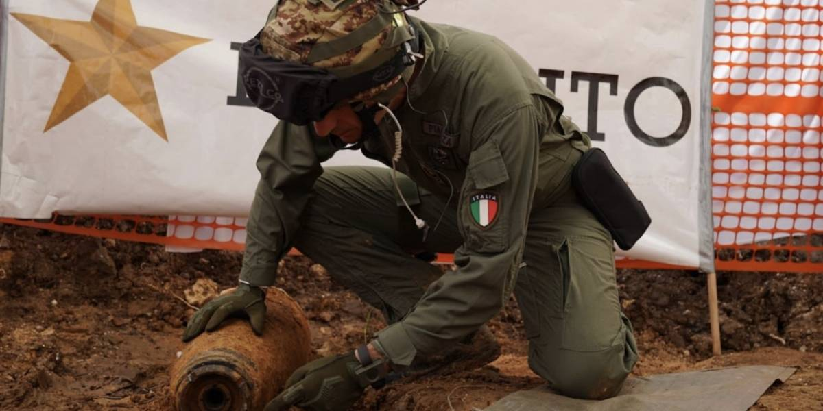 Más de 50 mil evacuados por hallazgo de otra bomba de la II Guerra Mundial en Italia