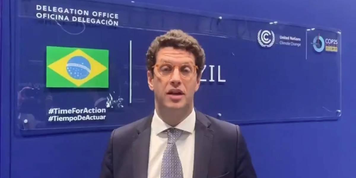 Salles diz que COP25 'não deu em nada'