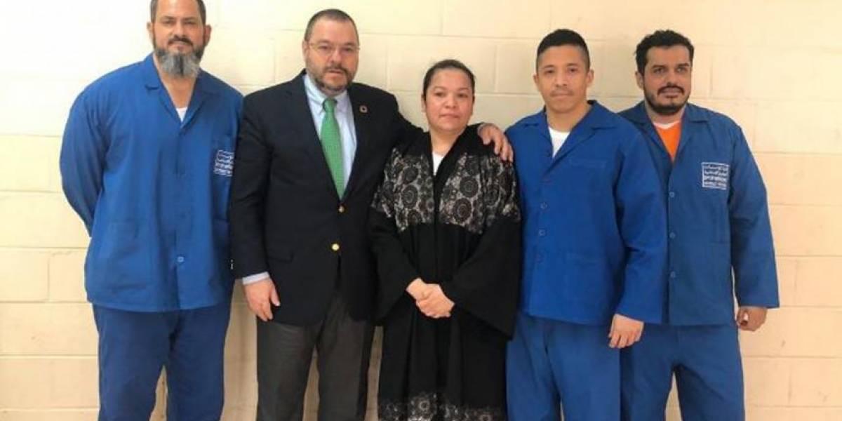 Colombianos condenados a cadena perpetua en Qatar regresarán al país