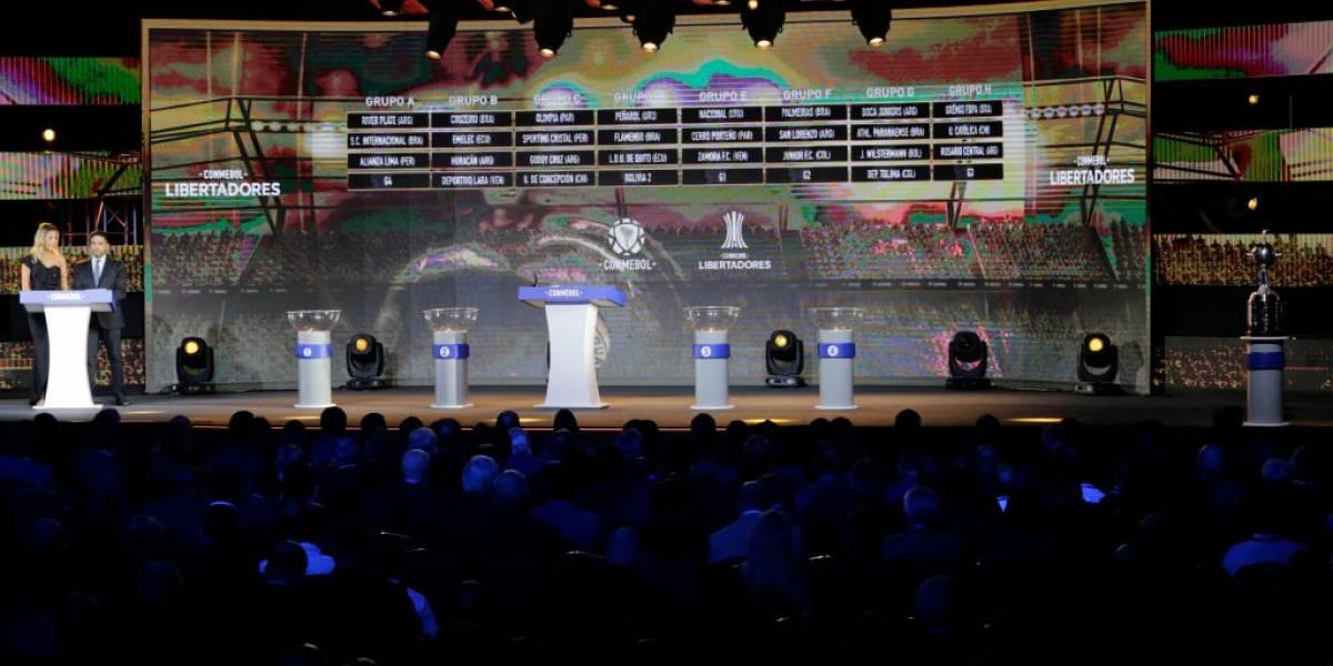 La UC, Colo Colo, Palestino y Chile 4: Todo lo que hay que saber del sorteo de la Copa Libertadores 2020