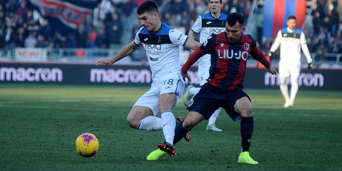 Bologna triunfó con lo justo ante Atalanta en la Serie A con Gary Medel como titular