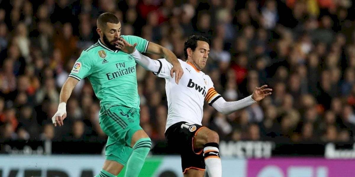 Real Madrid igualó con Valencia y desperdició la opción de ser el único puntero de la Liga española