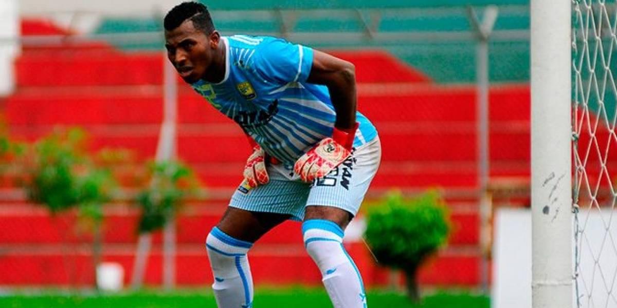 Las declaraciones de Pedro Ortiz, arquero de Delfín al ganar a Liga de Quito