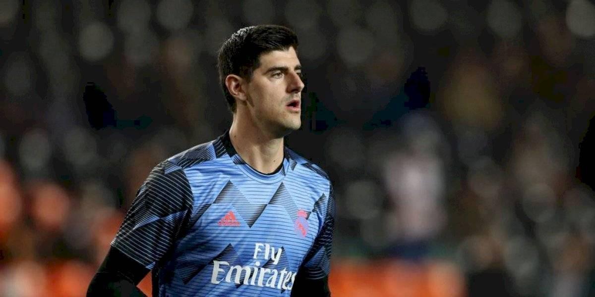 Courtois, el héroe del Real Madrid para empatarlo en Valencia