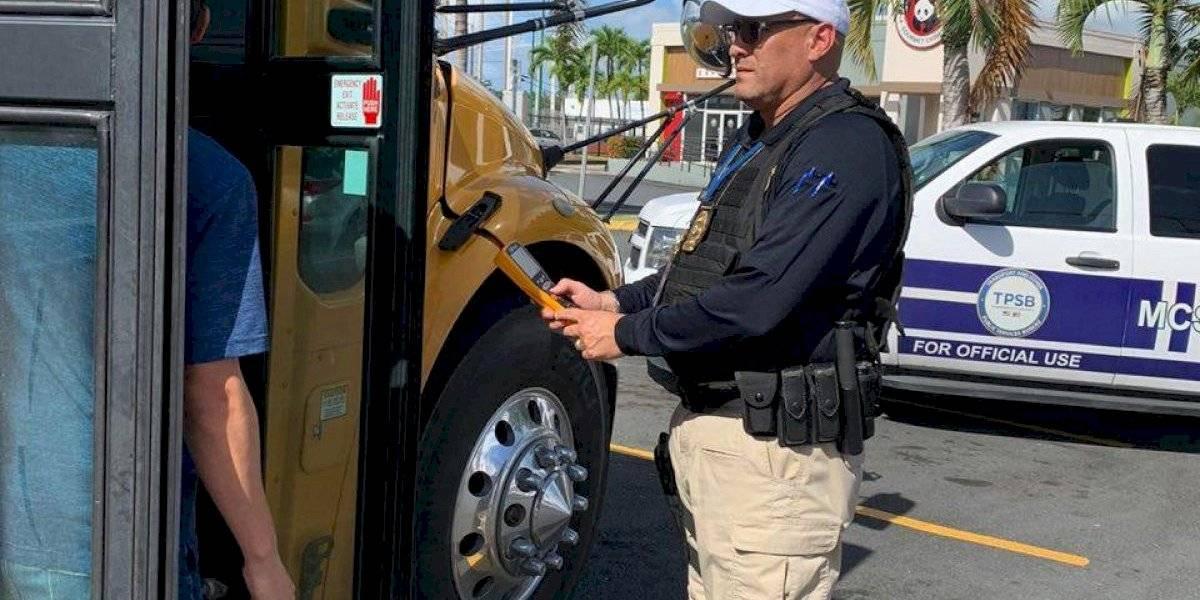 Agentes del NTSP realizan operativo de seguridad sorpresa