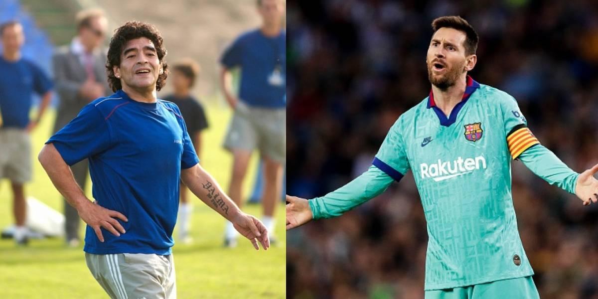 ¿Maradona mejor que Messi? Este video puede responder tus dudas