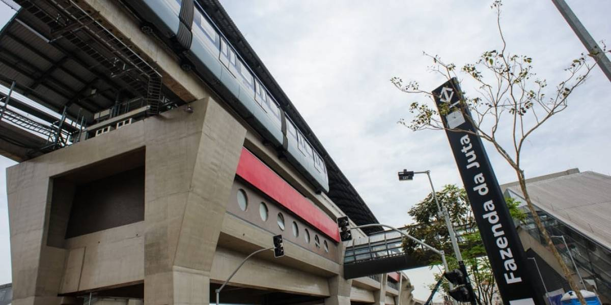 Metrô inaugura três estações da linha 15-Prata nesta segunda