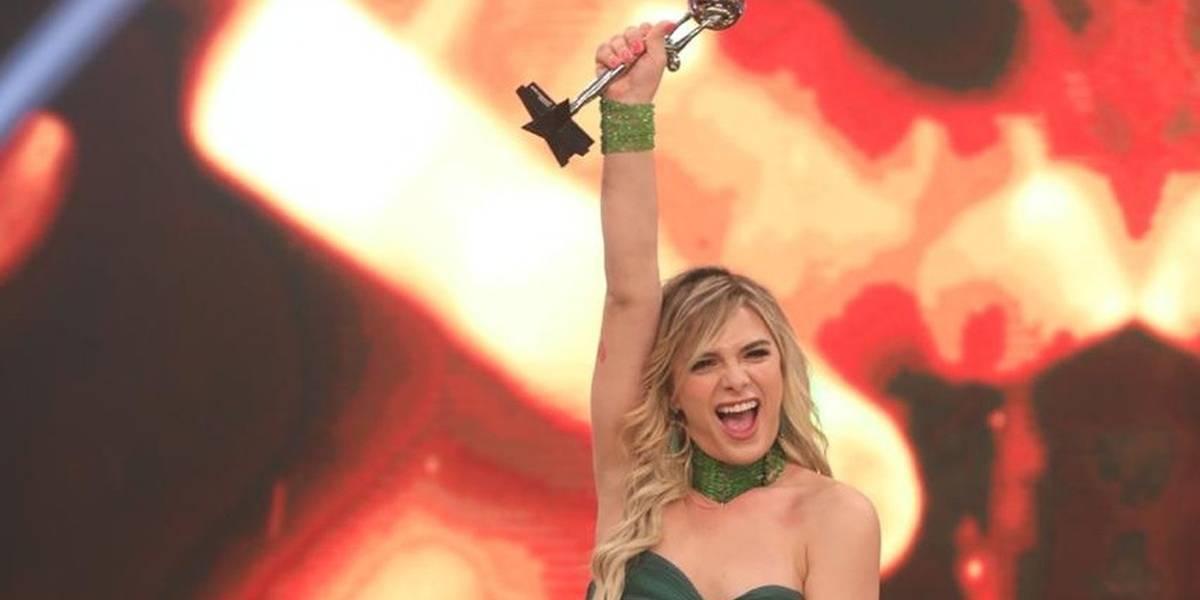 Glamour Garcia é a primeira atriz trans a conquistar 'Troféu Domingão'