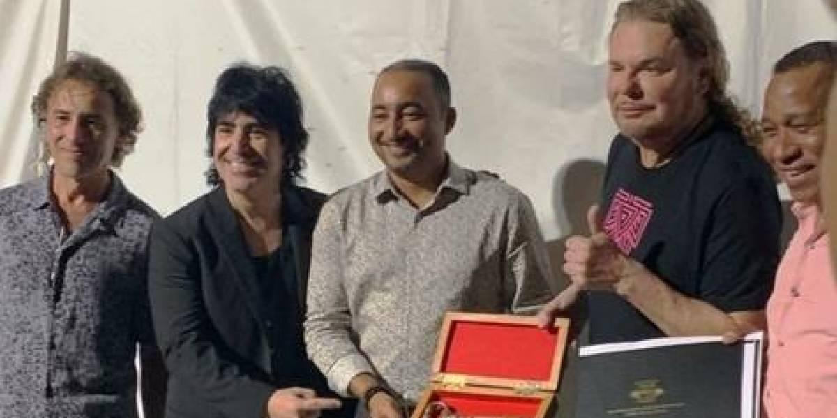 Artistas Maná y Alejandro Sanz recibieron las llaves de Punta Cana