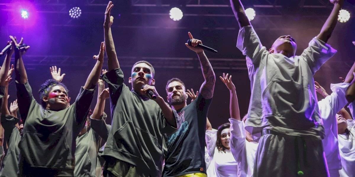 """Fotos: Así fue el derroche de talento de los jóvenes de la fundación de Maluma """"El arte de los sueños"""""""