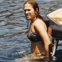 Jennifer Lopez en bikini