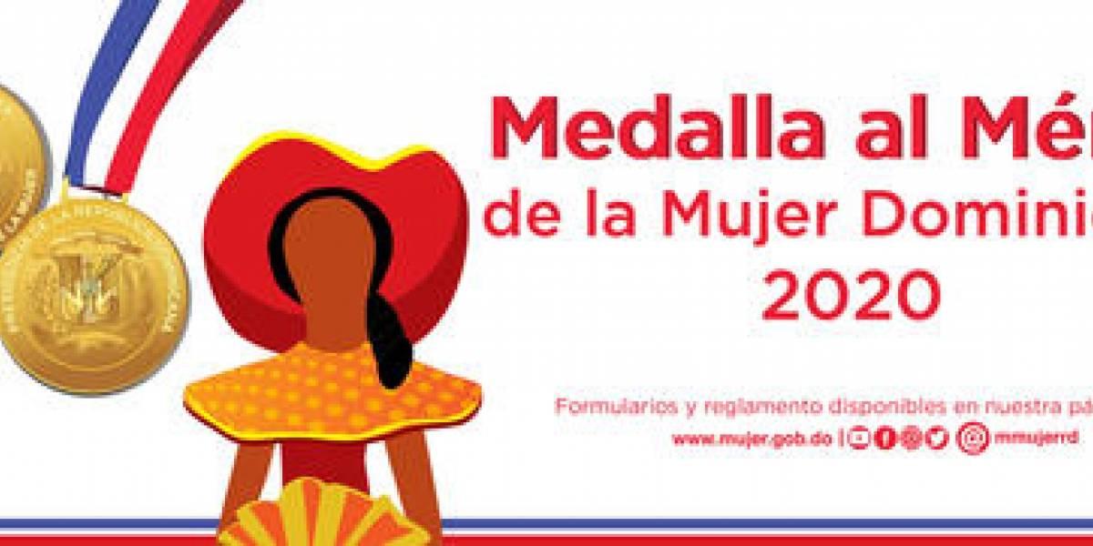 """Convocatoria a la """"Medalla al Mérito de la Mujer"""" finaliza el 31 de enero de 2020"""