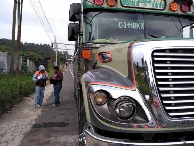 operativos buses extraurbanos Dirección General de Transporte