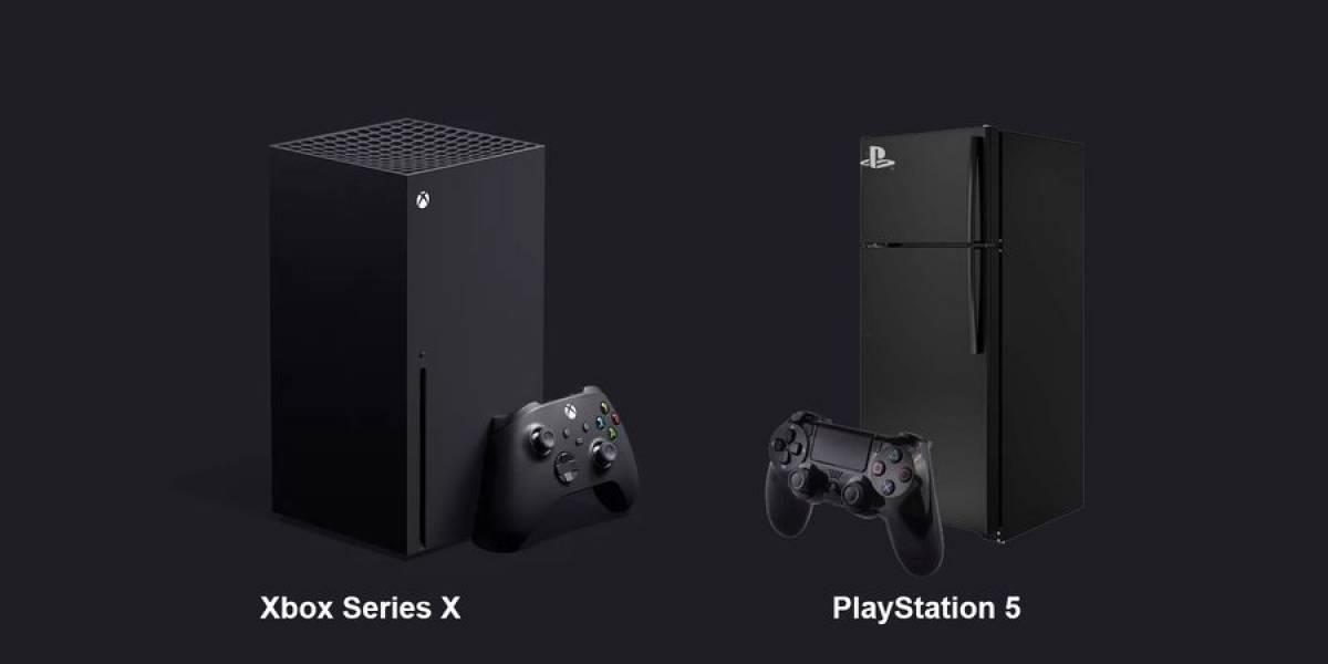 Render filtrado de broma muestra que la PlayStation 5 es idéntica al Xbox Series X