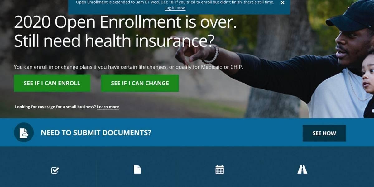 """Tras fallas técnicas, prorrogan inscripción a """"Obamacare"""""""
