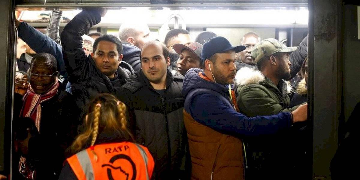Francia sigue en huelga