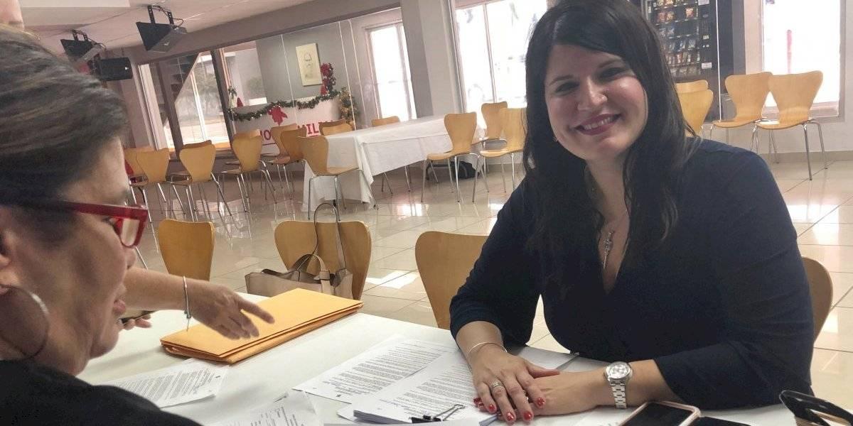 Gretchen Hau presenta candidatura para el Senado por el distrito de Guayama