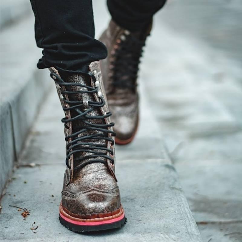 Botas de cuero de Díos Leather Shoes