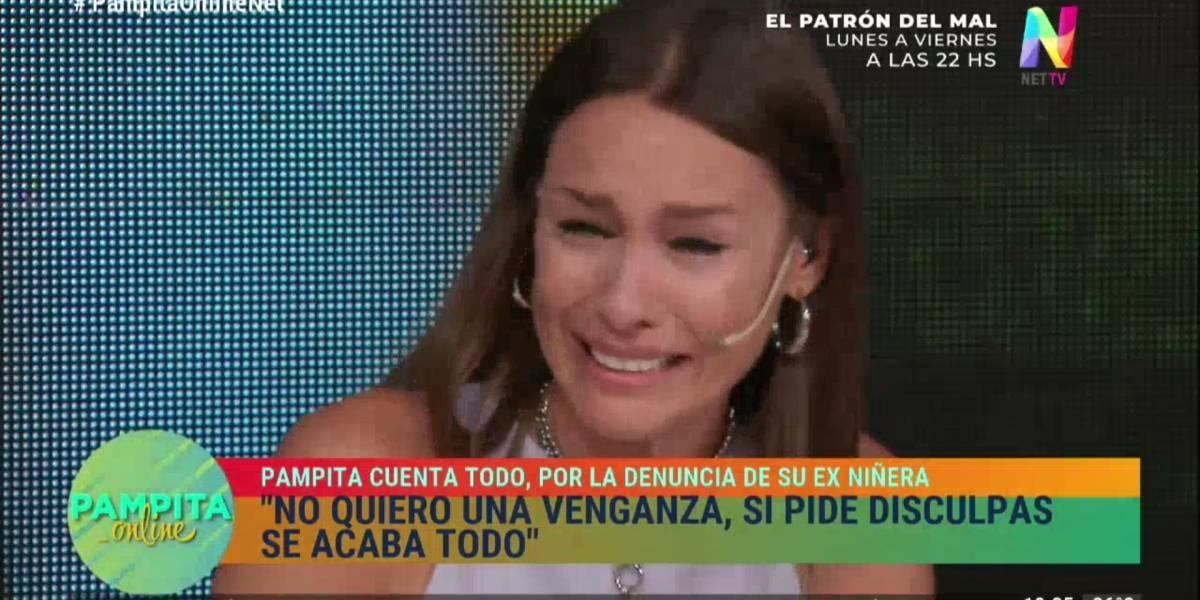 """El desconsolado llanto de Pampita tras acusaciones de maltrato laboral: """"No voy a regalar ni un peso"""""""