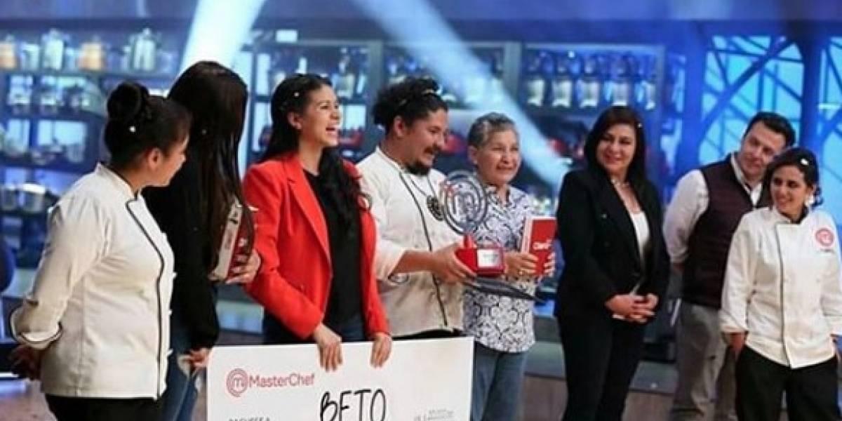 El mensaje de Beto tras ganar la final de MasterChef Ecuador