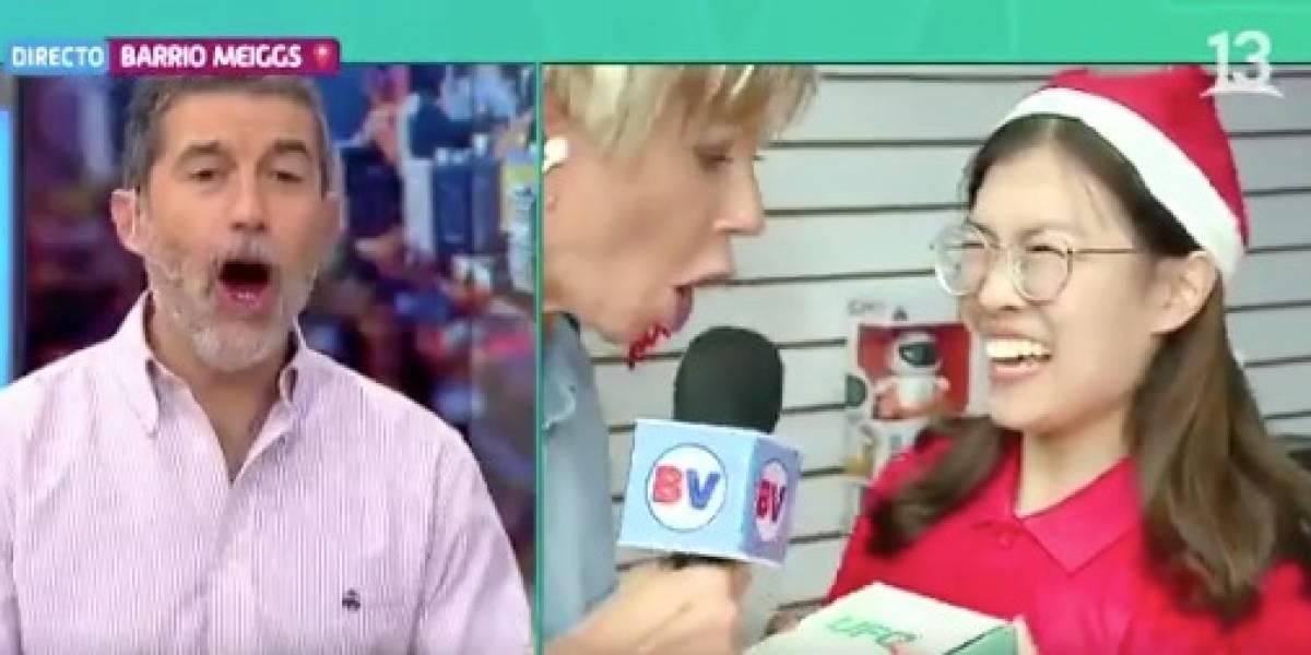 """""""¿Qué sabes decir en español?"""": reportera vivió accidentada declaración en vivo"""