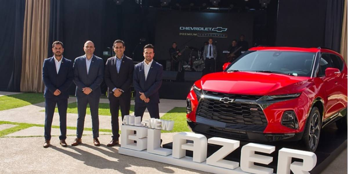 La nueva Chevrolet Blazer llega con mayor tecnología y espacios únicos