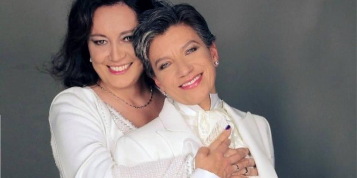 Detalles de la boda de Claudia López y Angélica Lozano