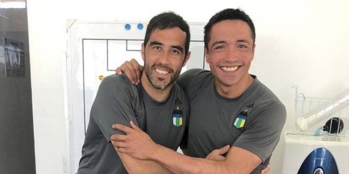 """Bravo felicita a Pinto por su fichaje en Colo Colo: """"Desde la distancia te estaremos apoyando"""""""