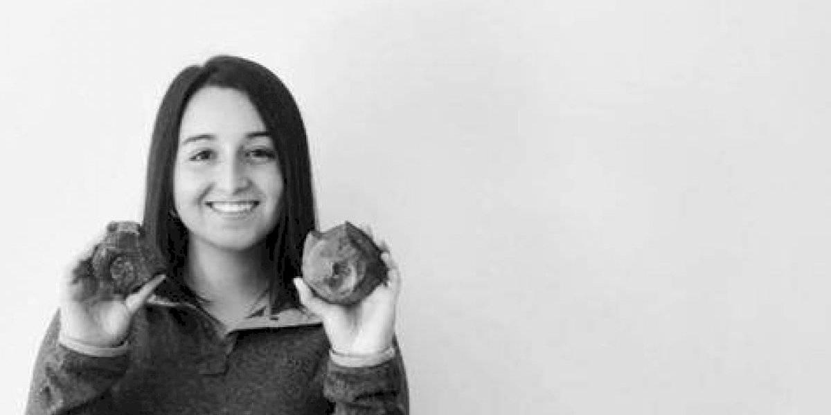 Conoce a la estudiante que halló un fósil en medio de las protestas en Chile
