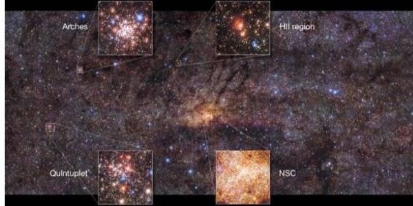 Astrónomos revelan imagen que muestra cómo ocurrió explosión de la Vía Láctea