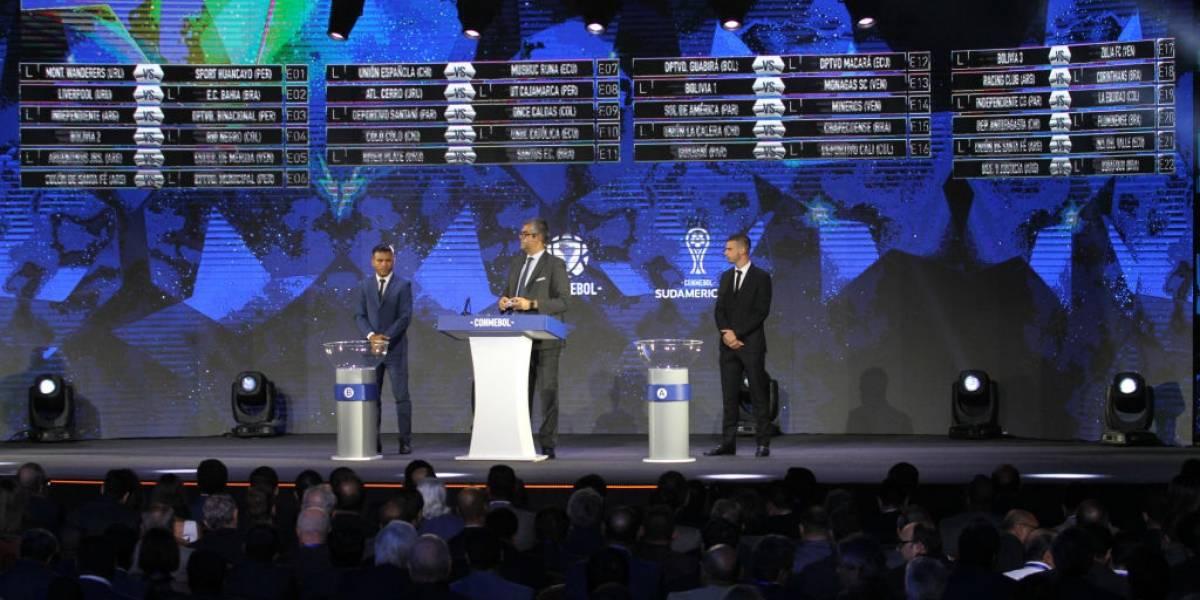 Noche de sorteos: Los equipos chilenos conocerán a sus rivales en Copa Libertadores y Sudamericana
