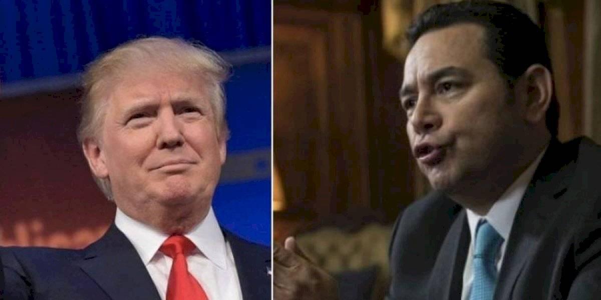 Trump busca agradecer a Morales por implementación del acuerdo migratorio