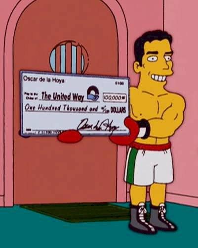 Oscar de la Hoya.