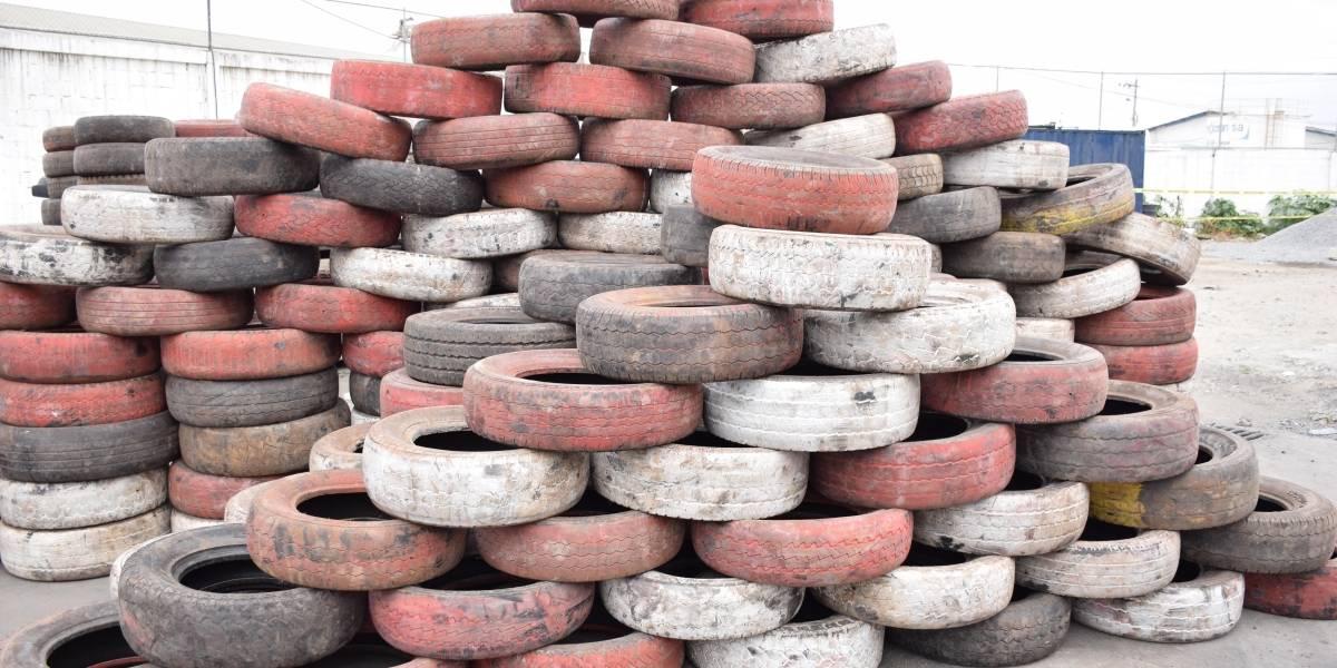 Galápagos es declarada como provincia libre de neumáticos usados