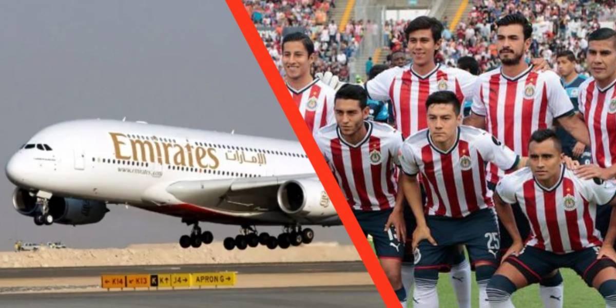 Fly Emirates llega a México y ya se encuentra buscando patrocinio en el fútbol mexicano
