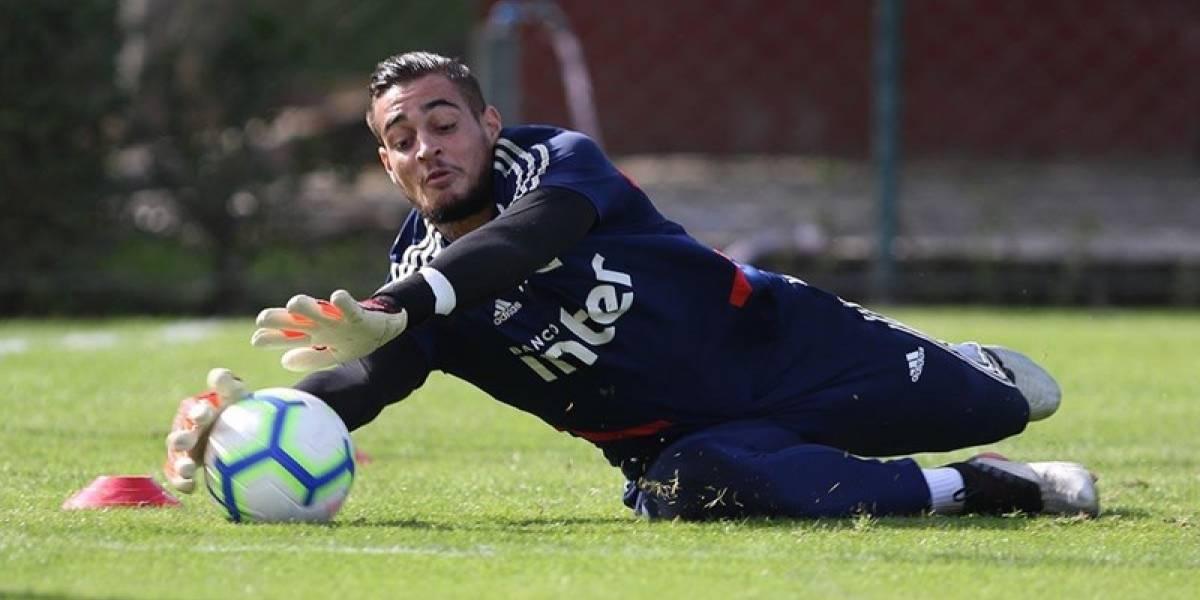 São Paulo anuncia que pretende rescindir contrato do goleiro Jean