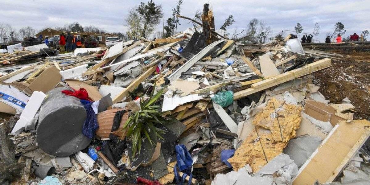 Esta semana más de 20 tornados impactan sureste de EE. UU.