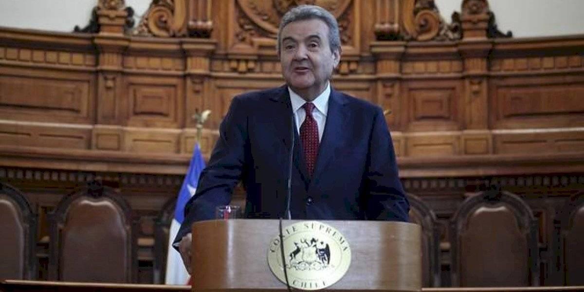 Guillermo Silva es elegido como nuevo presidente de la Corte Suprema