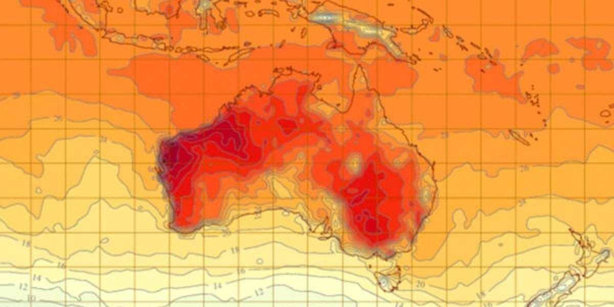 Austrália enfrenta dia mais quente de sua história