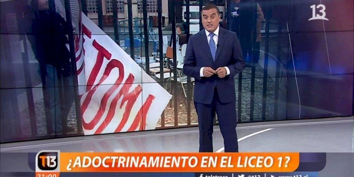 Fallo en contra de Canal 13: la señal de Luksic deberá pagar millonaria multa por polémico reportaje sobre vínculos entre el Liceo 1 y el FPMR